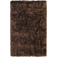 <strong>Chandra Rugs</strong> Sunlight Dark Brown Rug