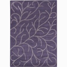 Bajrang Purple Rug