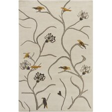<strong>Chandra Rugs</strong> Hanu Birds Novelty Rug