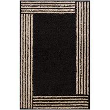 INT Black Border Area Rug