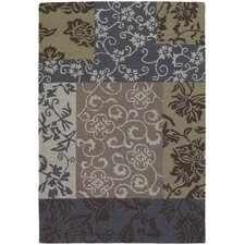 INT Floral Swirls Area Rug