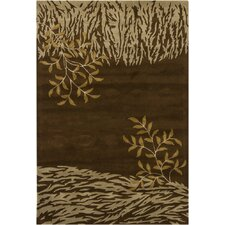 <strong>Chandra Rugs</strong> INT Brown Rug