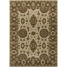 INT Ivory/Brown Area Rug