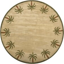 <strong>Chandra Rugs</strong> Palm Novelty Rug