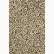 <strong>Chandra Rugs</strong> Retro Unique Beige Rug