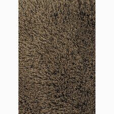 Rivera Brown Solid Area Rug