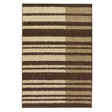 Roma Brown/Tan Stripes Area Rug