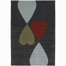 <strong>Chandra Rugs</strong> Rowe Heart Rug