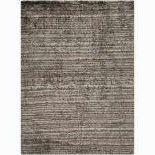 Savona Gray Stripe Area Rug