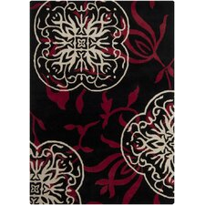 <strong>Chandra Rugs</strong> Bajrang Black Rug