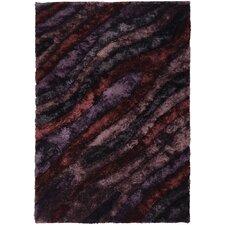 Flemish Shag Purple Area Rug