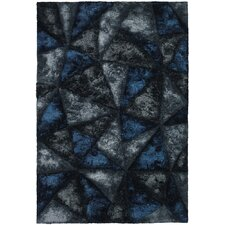 <strong>Chandra Rugs</strong> Flemish Shag Dark Grey Rug