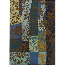 Gagan Blue Area Rug