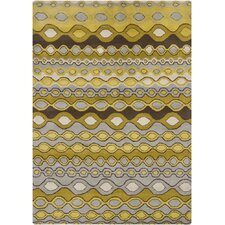 Gagan Gold/Yellow Area Rug