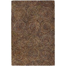 <strong>Chandra Rugs</strong> Galaxy Brown Rug