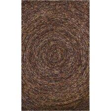 Galaxy Dark Brown Area Rug