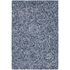 <strong>Chandra Rugs</strong> Galaxy Blue Rug