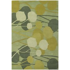 Inhabit Designer Lime Area Rug