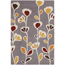 Inhabit Designer Gray Rug