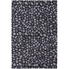 Inhabit Designer Charcoal Area Rug