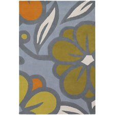 Inhabit Designer Blue/Green Rug
