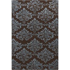 Navyan Brown/Blue Rug