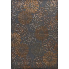 Navyan Dark Gray Rug