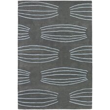 <strong>Chandra Rugs</strong> Parson Gray Designer Grey Rug