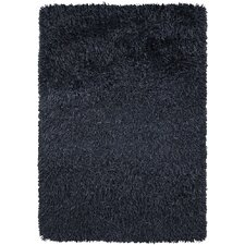 <strong>Chandra Rugs</strong> Poligan Shag Navy Rug