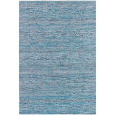 Shenaz Dhurrie Light Blue Area Rug