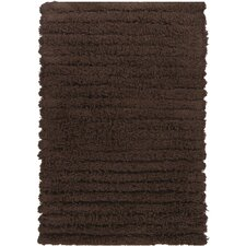 Wynton Shag Dark Brown Rug