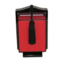 Ragalia Table Lamp in Black and Red Trim