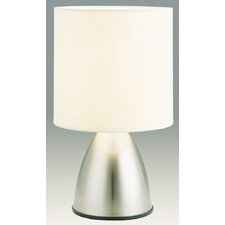 Nikki Touch Lamp in Brushed Chrome