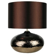 Fusion Crocodile Complete Table Lamp in Brown