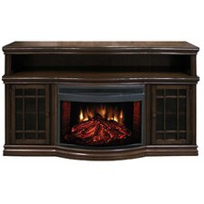 "Dwyer 57"" TV Stand with Electric Fireplace"