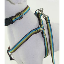 <strong>Lola and Foxy</strong> Dublin Stripe Dog Harness
