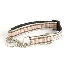 English Plaid Martingale Dog Collar