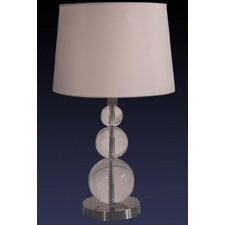 Three Crystal Balls Table Lamp