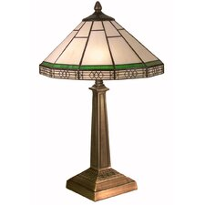 Table Lamp in Antique Brass