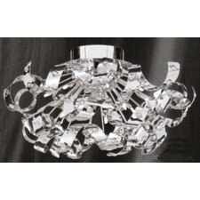 Twelve Light Ceiling Lamp in Chrome
