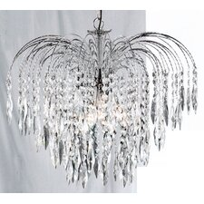 Waterfall Chandelier in Chrome
