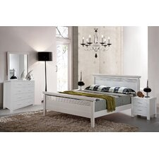 Tempo Bedroom Suite in Pure White