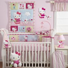 Hello Kitty and Puppy Crib Bedding Collection
