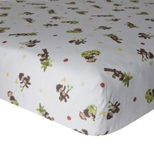 <strong>Bedtime Originals</strong> Curly Tails Fitted Crib Sheet