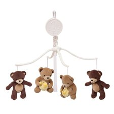 <strong>Bedtime Originals</strong> Honey Bear Musical Mobile