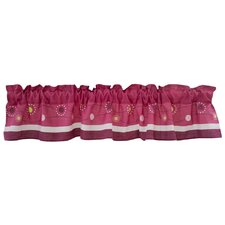 Pink Butterfly Curtain Valance