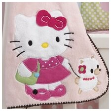 Hello Kitty and Puppy Blanket