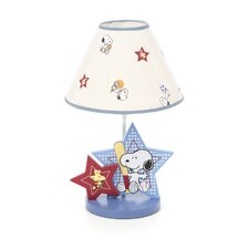 Champ Snoopy Table Lamp with Shade