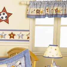 Champ Snoopy Rod Pocket Tailored Curtain Valance