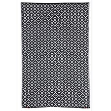 Kimberley Black Geometric Rug
